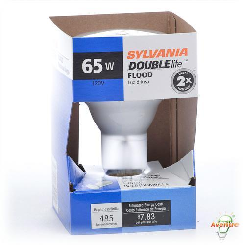 Sylvania 15177 65BR30 DL FL RP 120V Frosted Double Life